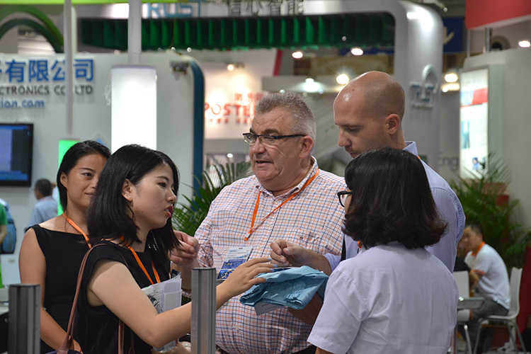 Visitors of IoT/RFID expo